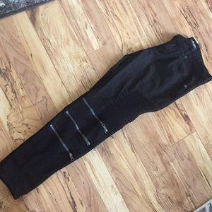 Black premium jeans skinny flex size 30/30 men's